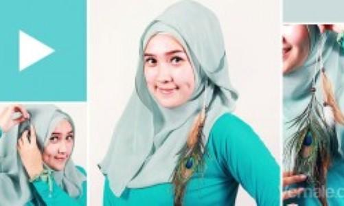 cara memakai hijab