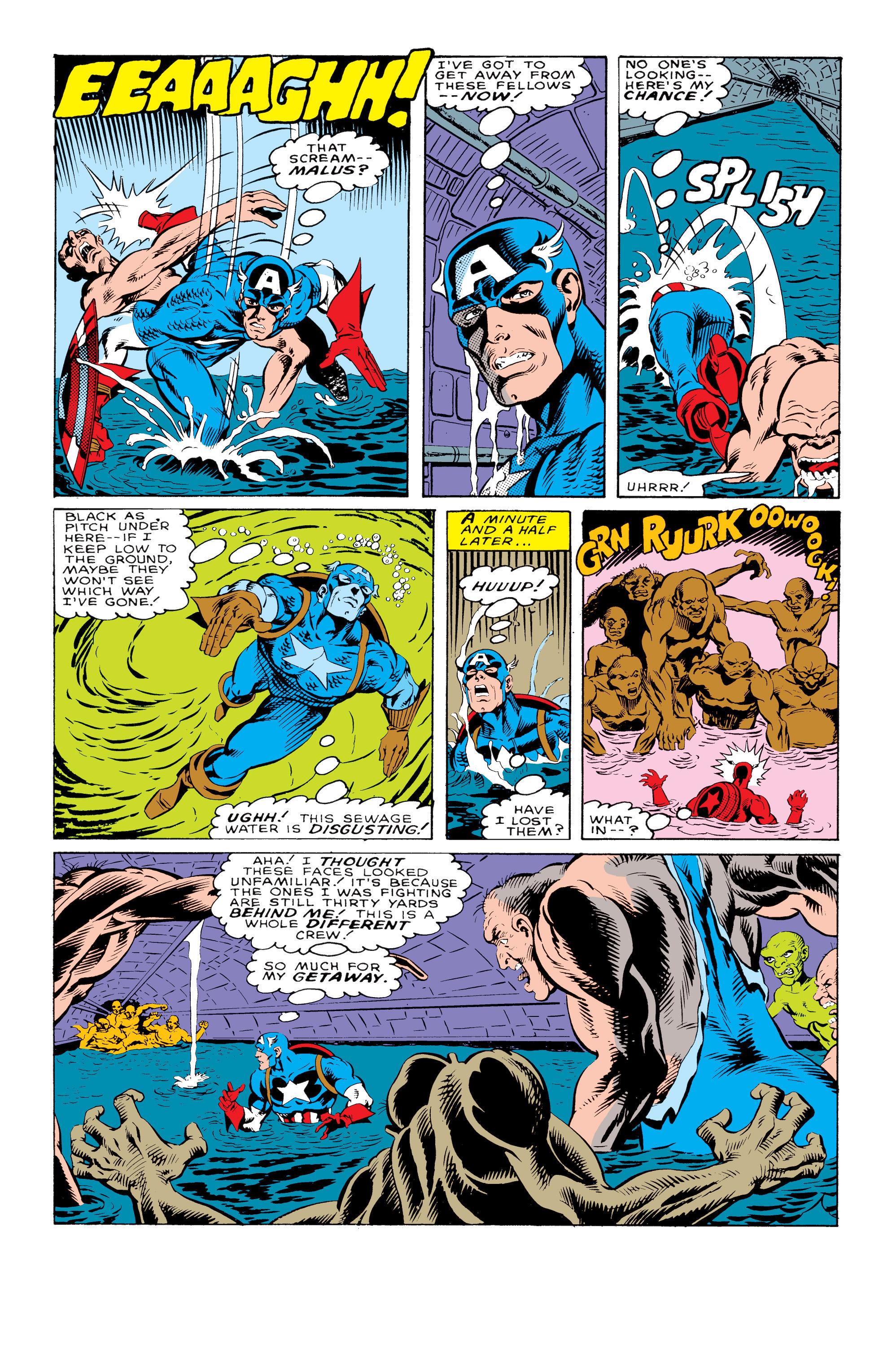 Captain America (1968) Issue #330 #259 - English 6