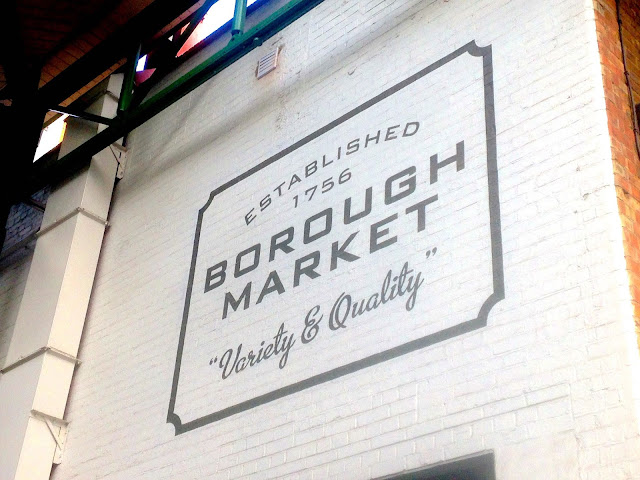 Borough Market sign from ballpointsandbiscuits.blogspot.co.uk