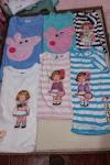 camisetas pepa pig y recortables