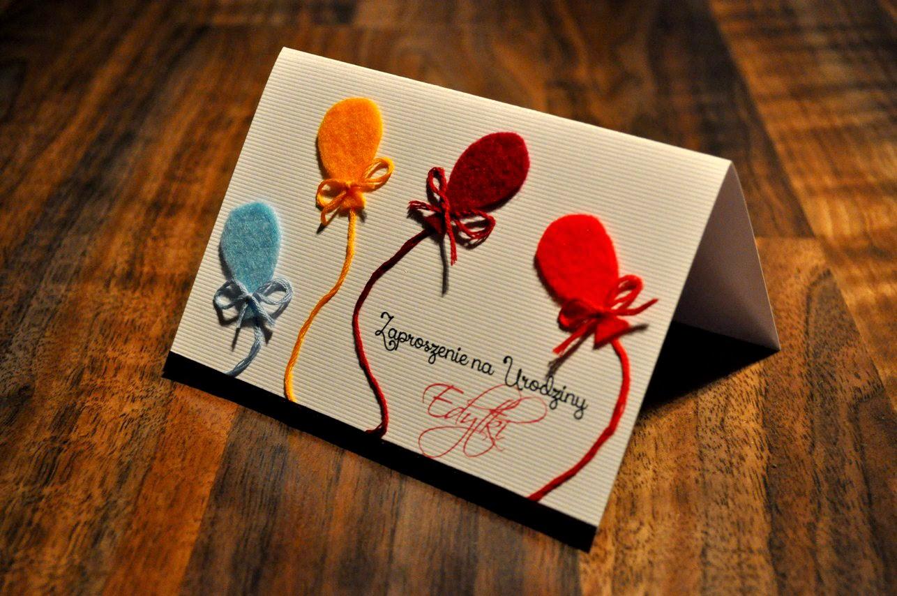 Papierowe Marzenia Zaproszenia ślubne Zaproszenie Na Urodziny