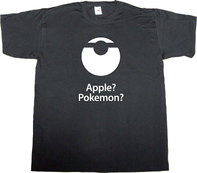 apple pokemon iphone t-shirt ephemeral-t-shirts