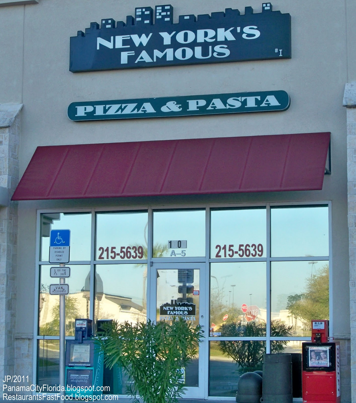 ... NEW YORK'S FAMOUS PIZZA & PASTA RESTAURANT PANAMA CITY FLORIDA,New