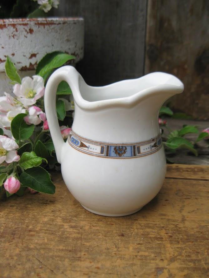 little ironstone pitcher