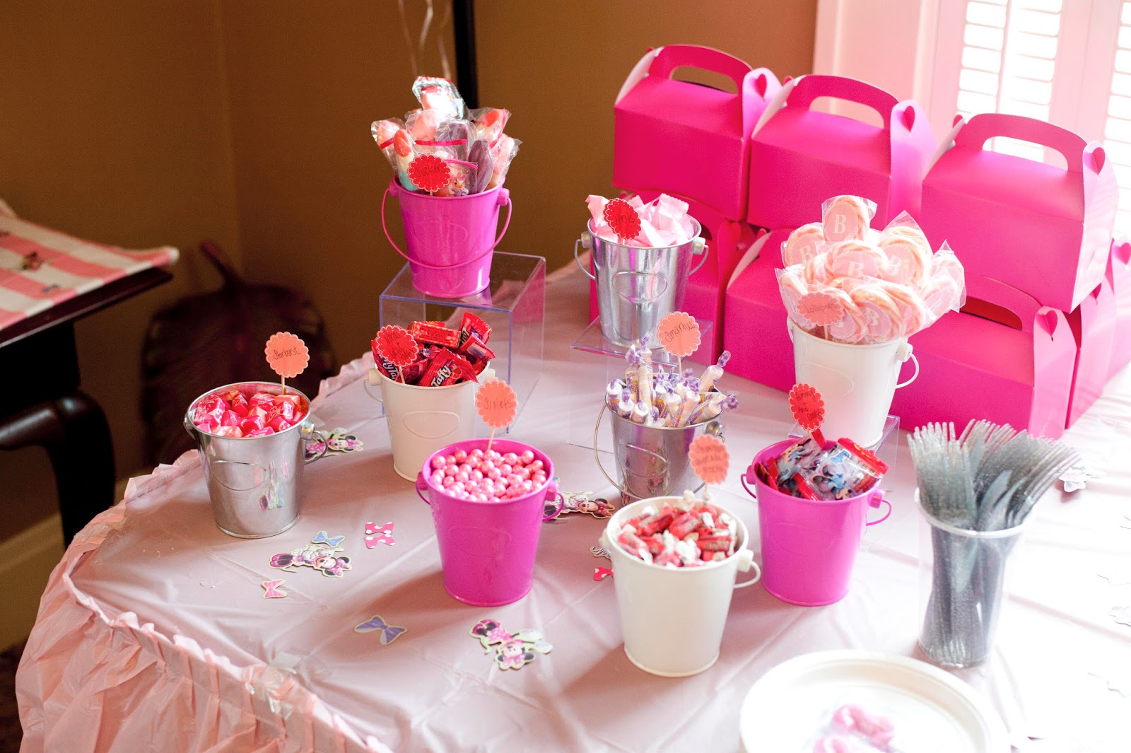 Best Our Minnie Mouse Ice Cream Shop Birthday Party