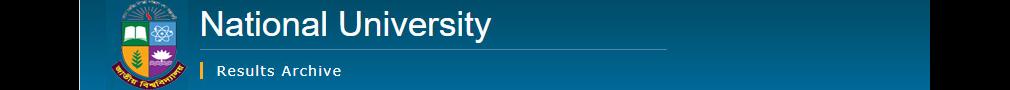 NU Result Archive: [www.nu.edu.bd/results]