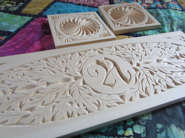Ales the woodcarver unfinished chip carving