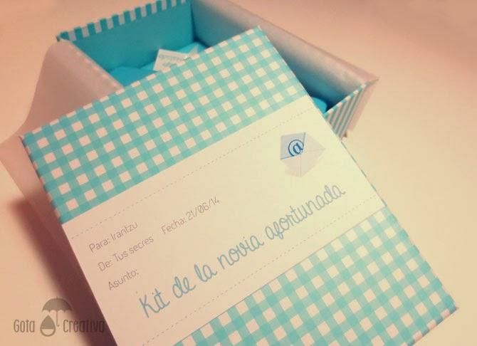 regalo novia algo azul prestado nuevo viejo Gota Creativa