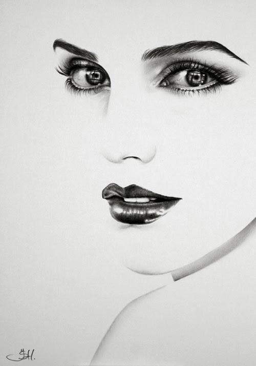 02-Artist-Ileana-Hunter-Minimalist-Hyper-Realistic-Portraits-www-designstack-co