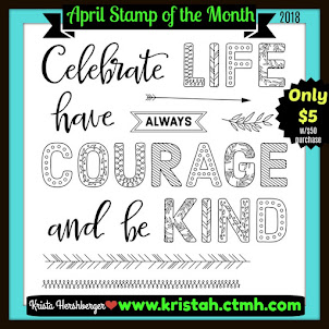 April  2018 Stamp of the Month