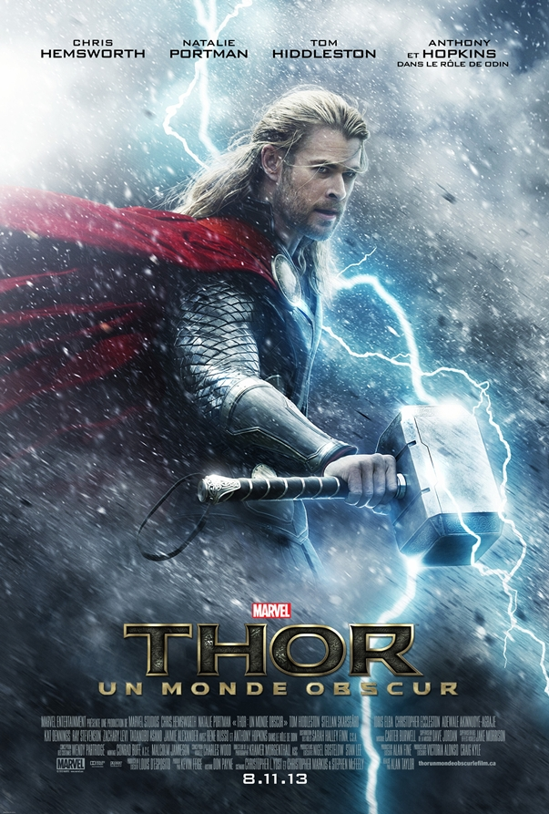 Thor: El mundo oscuro poster