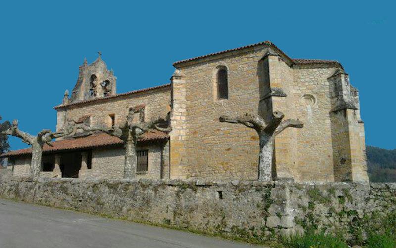 Iglesia de San Andres en Ambrosero