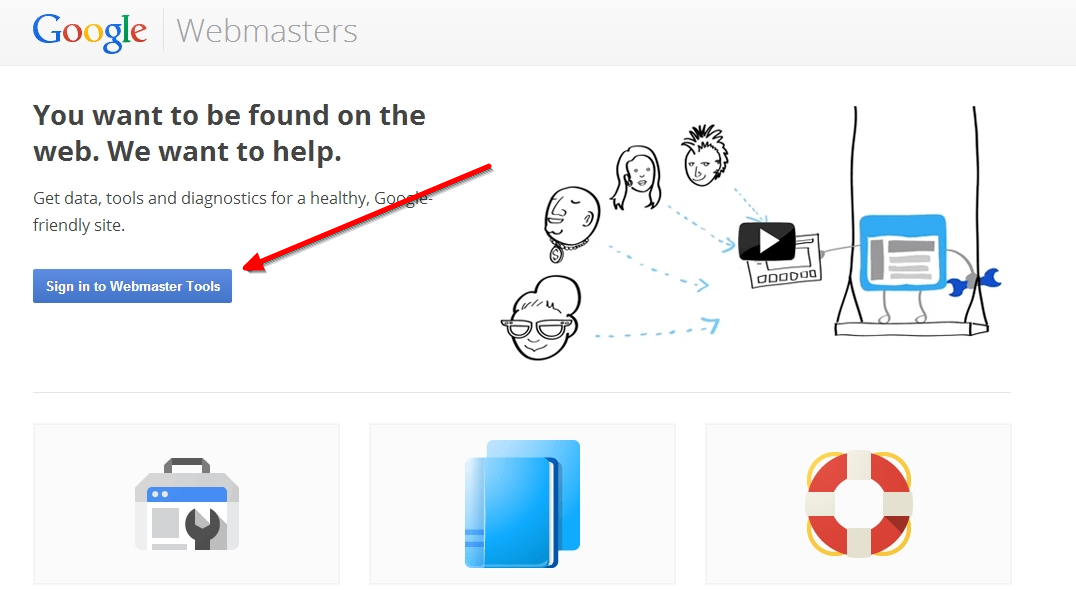 add blogger blog to google webmaster tool