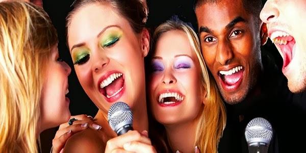 Menghilangkan stress dengan bernyanyi