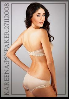 Hot Kareena Kapor in panty & Bra