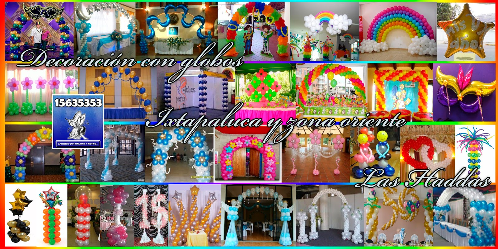 Organizaci n de eventos las haddas especial xv a os for Todo decoracion
