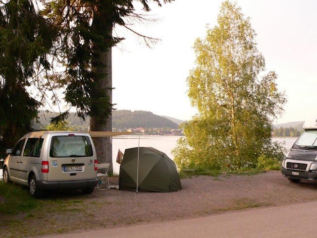 Titisee Schwarzwald Hochschwarzwald Camping Campingtrip mit Hund Urlaub Sommer Fernweh