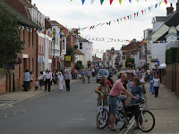 The crowds at Aldeburgh Carnival