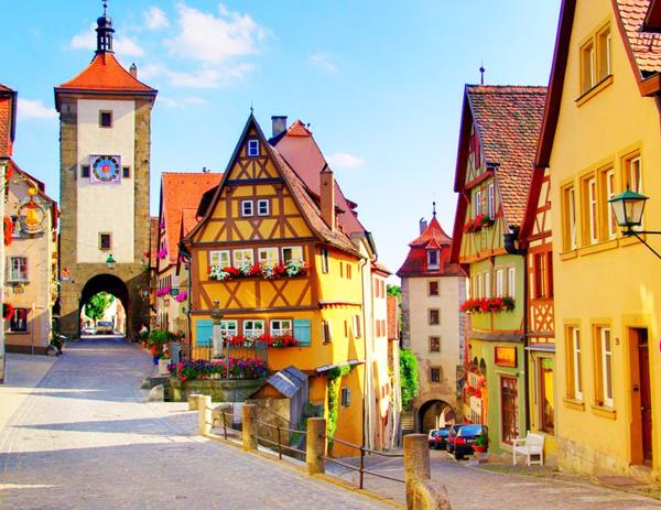 Βαυαρία-Ρότενμπουργκ-Μεσαίωνας-παραμύθι-παραμυθούπολη-ταξίδια