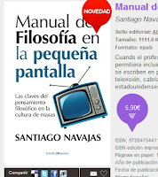 Ahora en ebook en AMAZON! Manual de Filosofía en la pequeña pantalla