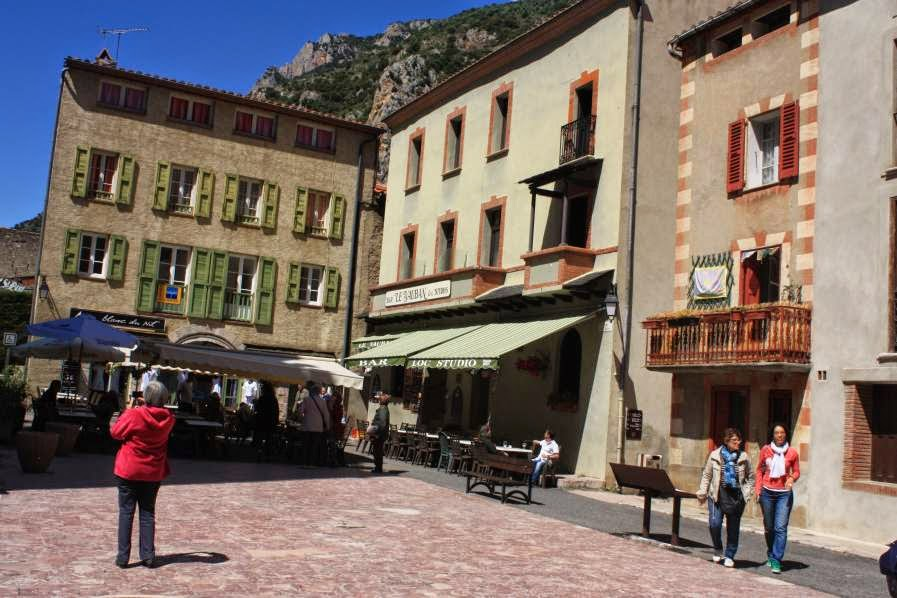 Church Square in Villefranche de Conflent