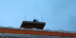 The hat on the chimney
