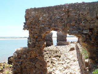 Sao Martinho do Porto ruins, Portugal