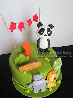 bolo aniversário canal panda bragança