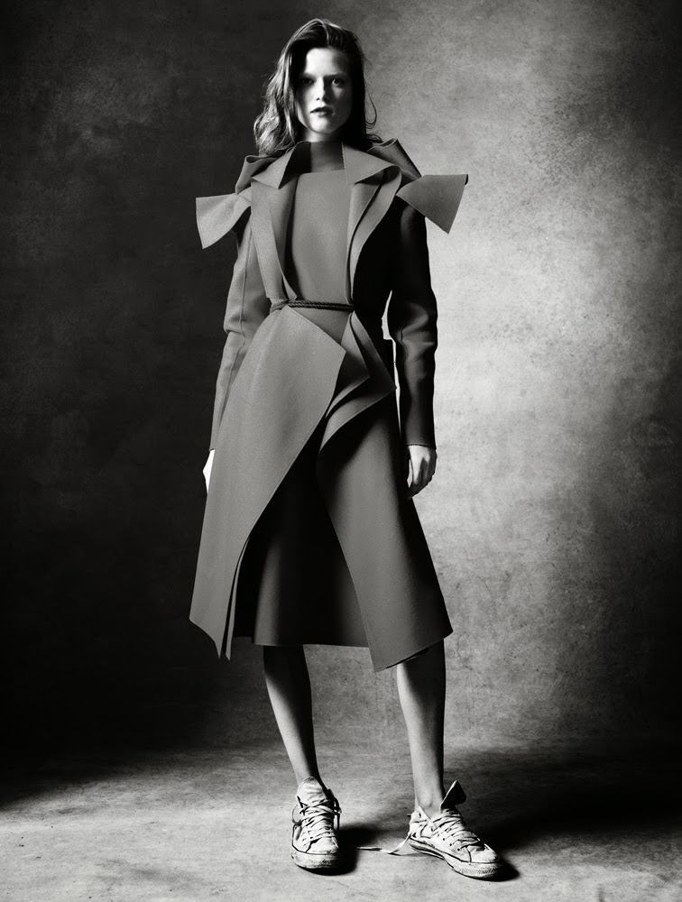 Kasia Struss for Antidote magazine fall/winter 2013 photographed by Victor Demarchelier