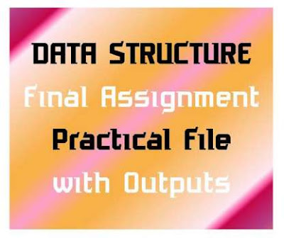 Data Structure and Algorithm File