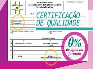 Certificado de Qualidade da UP!