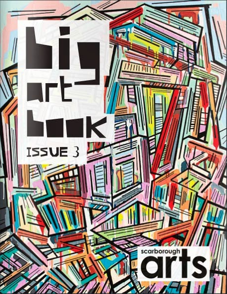 big art book 2014, issue 3, art book, malinda prudhomme, scarborough arts, toronto artist, portrait artist, eye paintings