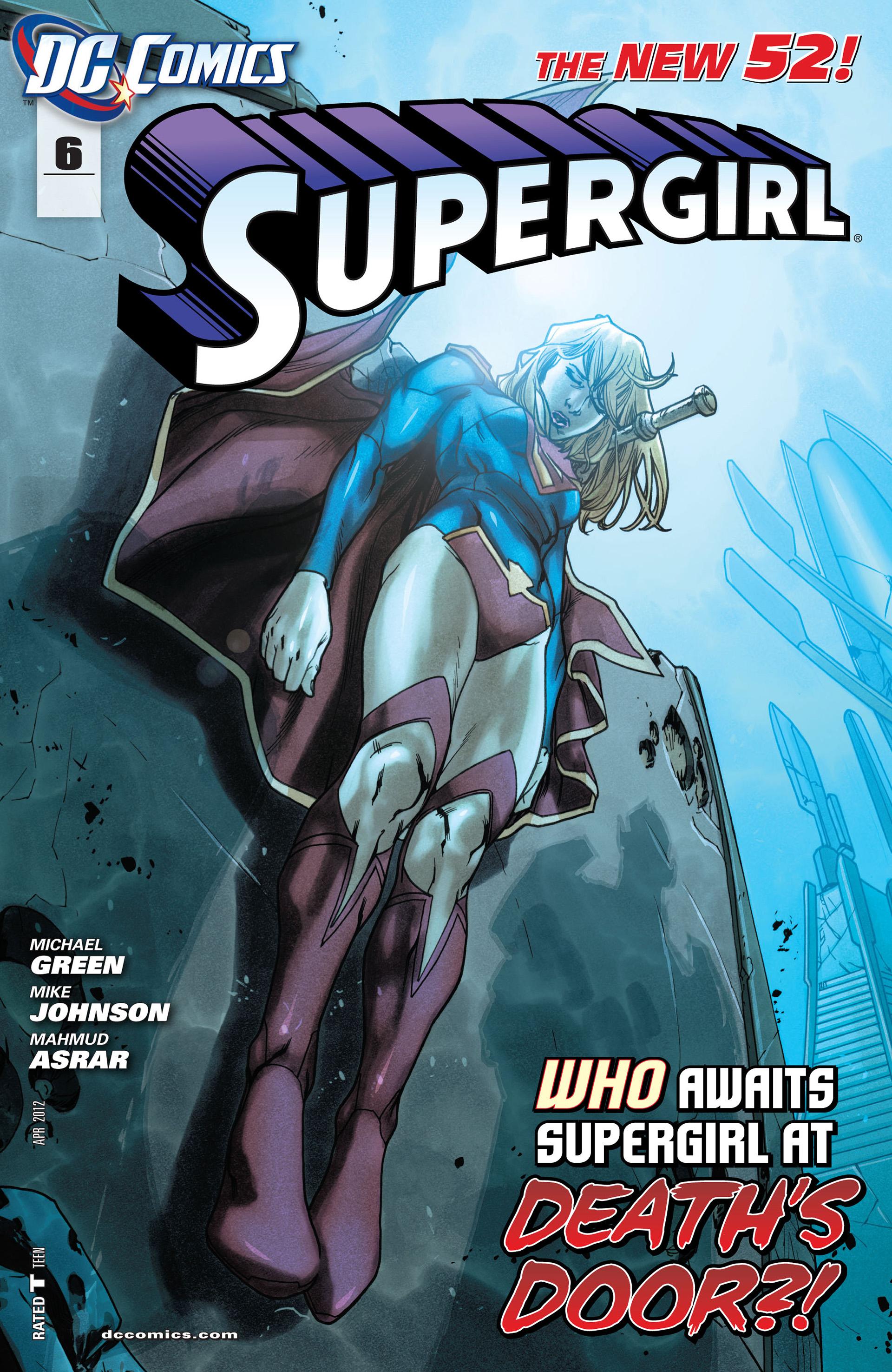 Supergirl (2011) Issue #6 #8 - English 1
