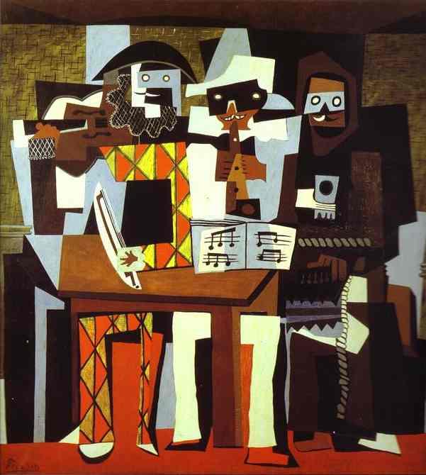 pinturas de picasso. pintura cubista de Picasso