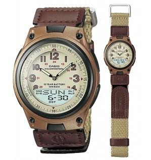 jam tangan casio aw 80v-5bv
