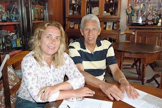 Presidente da Casa de Portugal Hebe Otto e presidente do Conselho Deliberativo João Telles: posto vai facilitar o atendimento de portugueses e descendentes aos serviços do Consulado de Portugal