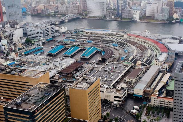 El Mercado Tsukiji en Tokio