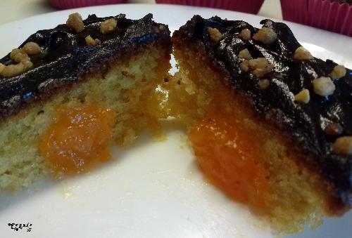 magdalenas, chocolate, fresa, naranja, mermelada, receta, recetas caseras, postres