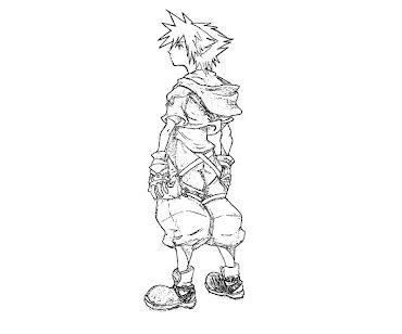 #4 Sora Coloring Page