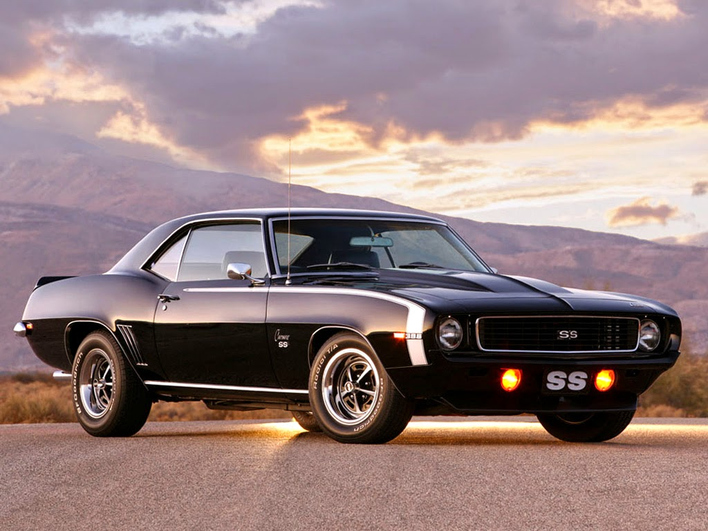 1968 Chevrolet Camaro SS HD wallpaper