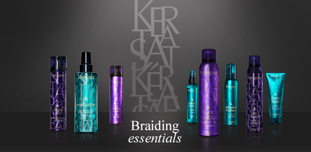 Kerastase Book of Braids, Kerastase couture collection
