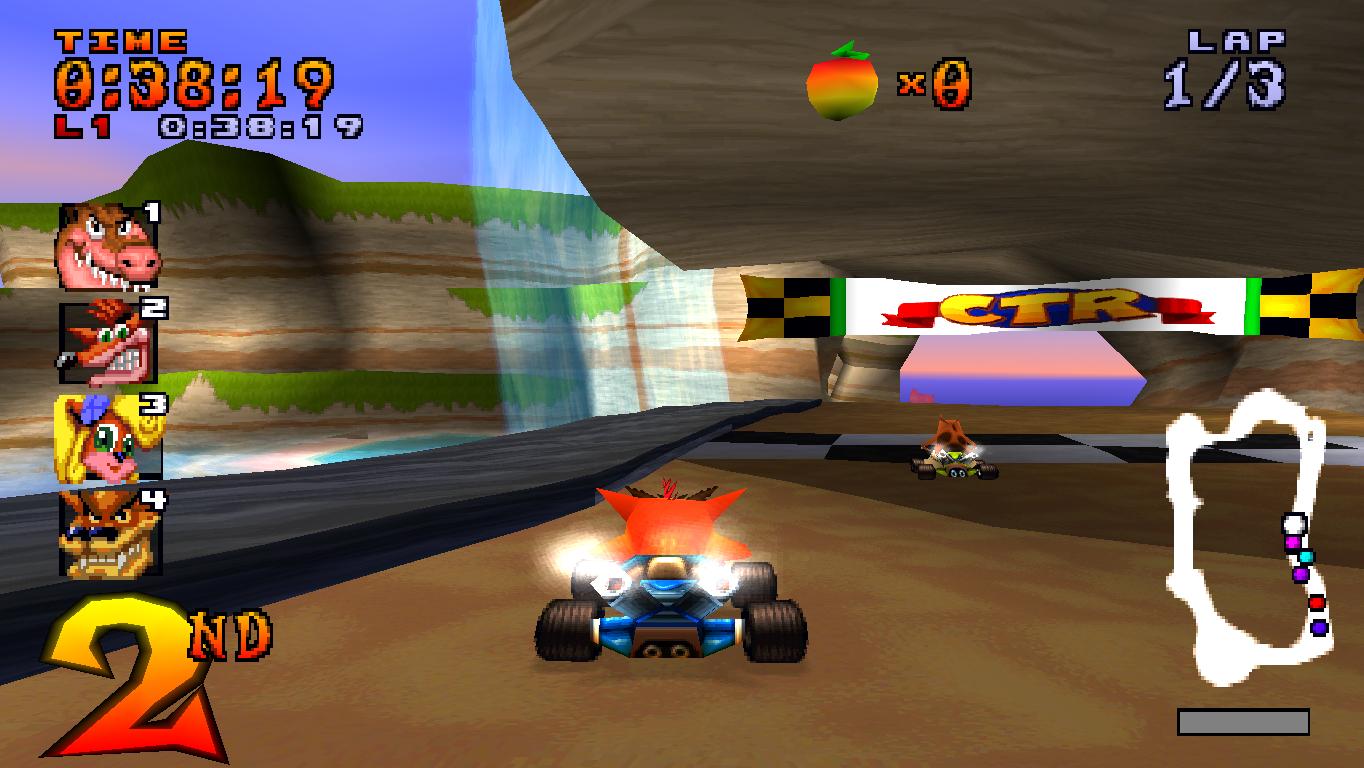 descargar crash team racing psx