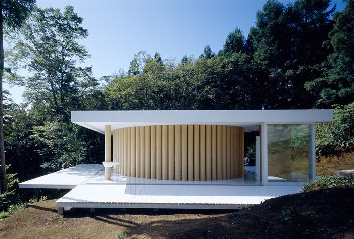 james pedersen paper house by shigeru ban. Black Bedroom Furniture Sets. Home Design Ideas