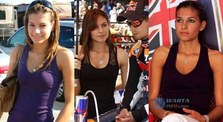 Foto hot cantik Adriana Tuchyna Istri Casey Stoner pembalap Motogp 2014