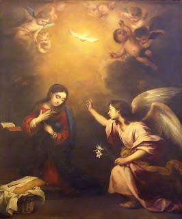 La Anunciación - Murillo - Hospital de la Caridad Sevilla