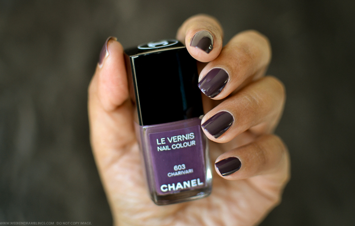 Chanel Charivari Nail Polish - Swatches Photos Review - Spring 2014 Notes de Printemps Makeup Collection
