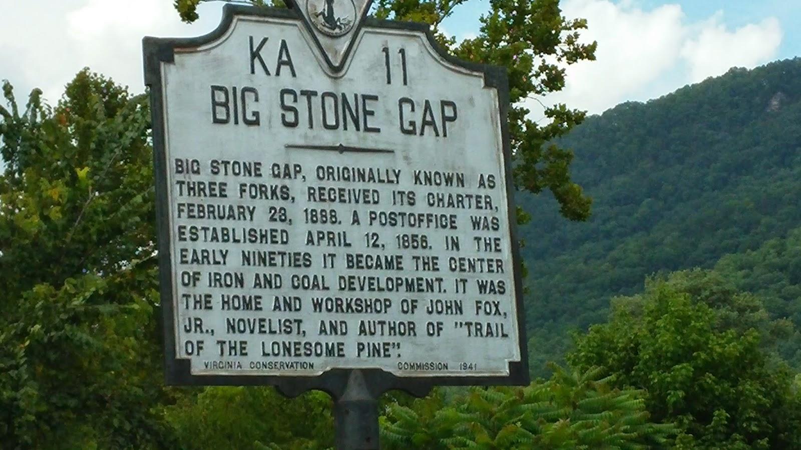 Big Stone Gap Elevation : Eas on down the road big stone gap va