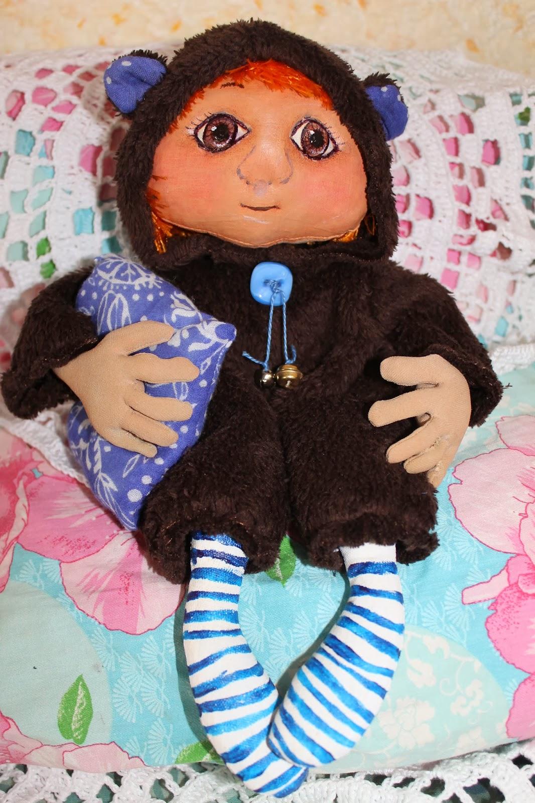 Интерьерная Кукла-сплюшка