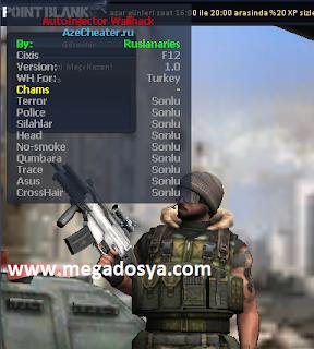 Ads%C4%B1z Point Blank Hilesi Yeni AzeCheater Türkiye Wallhack D3D9 Wh indir