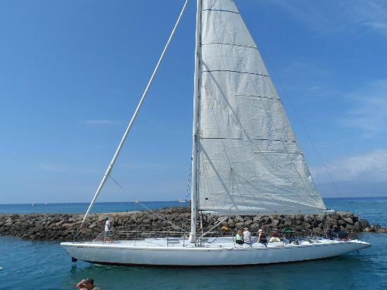 America's II Sailing Boat